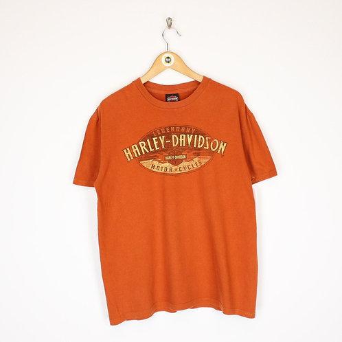 Vintage 2013 Harley Davidson T-Shirt Large