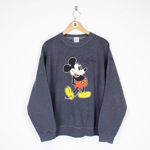 Vintage Disney California Sweatshirt Large