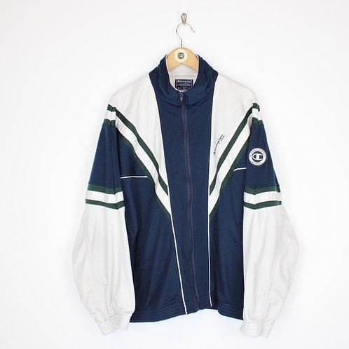 Vintage Champion Track Jacket Large