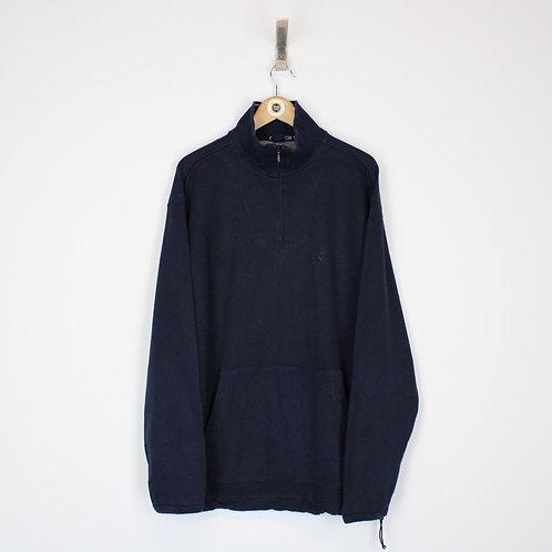 Vintage Nautica 1/4 Zip Sweatshirt Medium