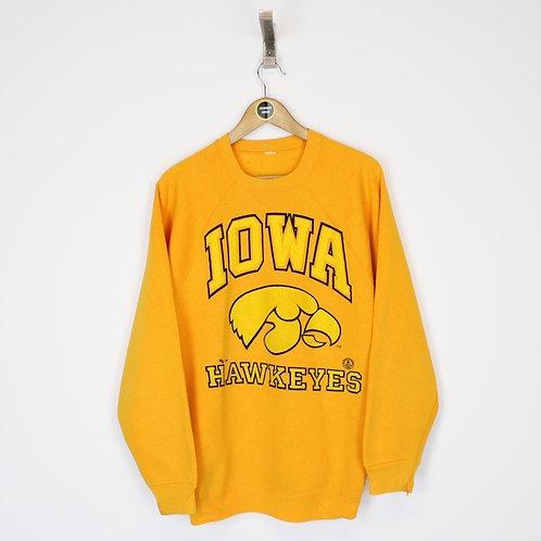 Vintage Iowa Hawkeyes Sweatshirt Large