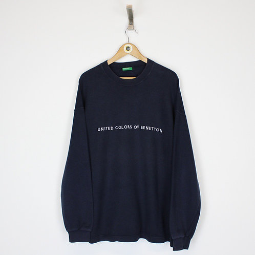 Vintage Benetton Sweatshirt XL