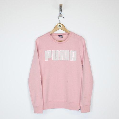 Vintage Puma Sweatshirt Medium