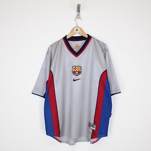 Vintage 1998/01 FC Barcelona Shirt XL