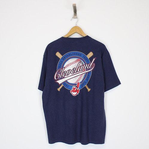 Vintage MLB Cleveland Indians T-Shirt Large