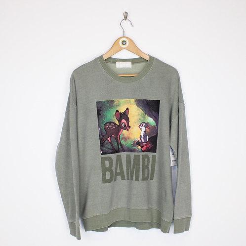 Vintage Bambi Sweatshirt XL