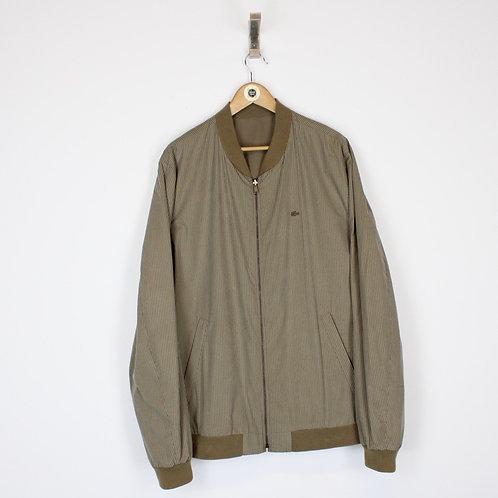 Vintage Lacoste Bomber Jacket XL