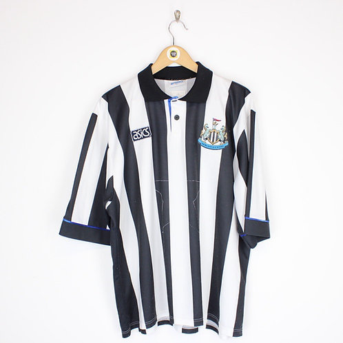 Vintage Asics Newcastle Utd 1993/95 Shirt XXL