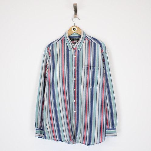Vintage Striped Shirt XL