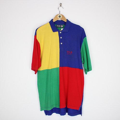 Vintage Fila Polo Shirt Small