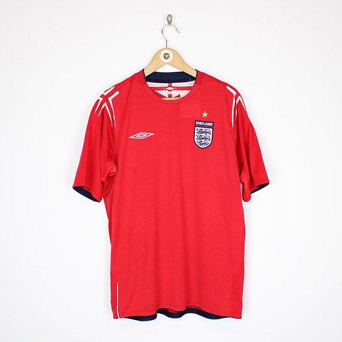 Vintage England 2005/06 Football Shirt Large