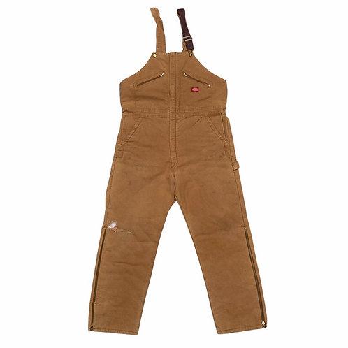 Vintage Dickies Workwear Dungarees XL