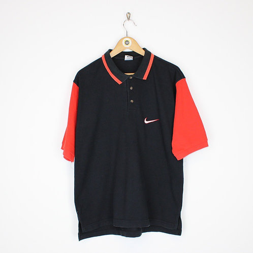 Vintage Nike Polo Shirt Large
