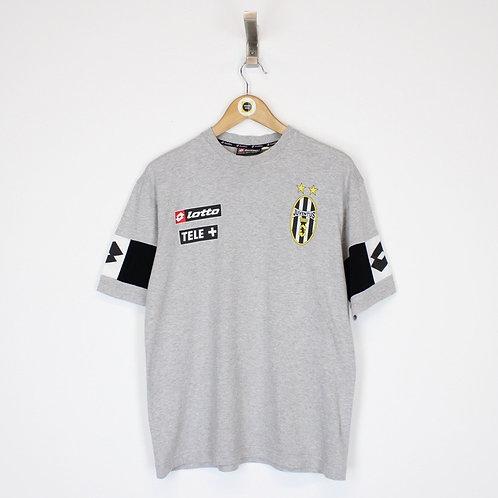 Vintage Lotto Juventus T-Shirt Small