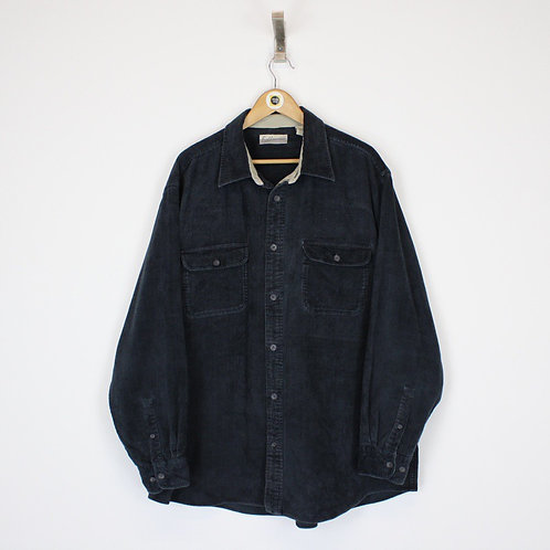 Vintage Fieldmaster Jumbo Cord Shirt XL