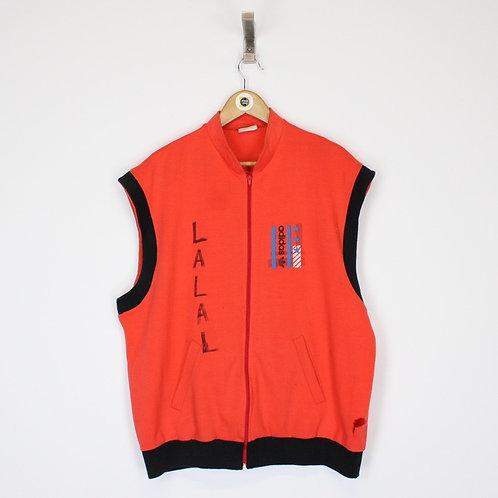 Vintage Adidas Vest Large