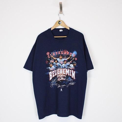 Vintage 2016 Cleveland Indians MLB T-Shirt XXL