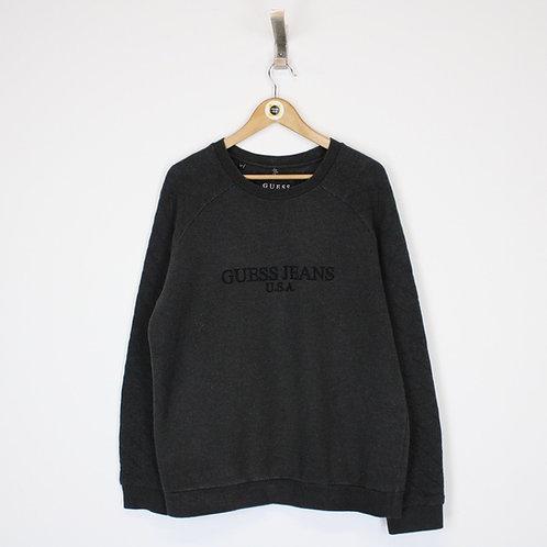 Vintage Guess Sweatshirt Large
