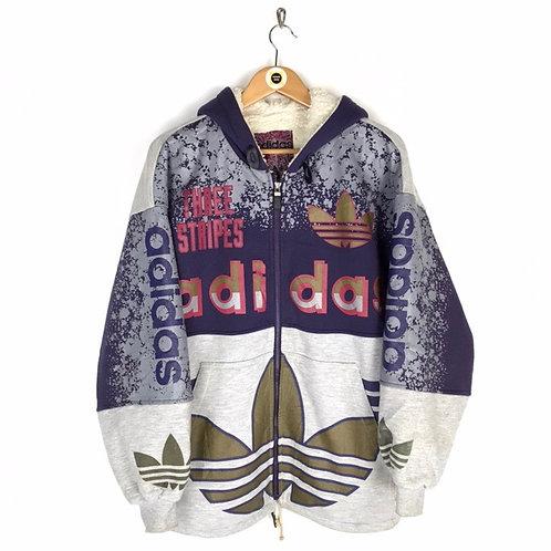 Vintage 80's Adidas Hoodie Medium