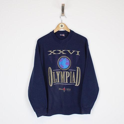 Vintage 1996 Atlanta Olympics Sweatshirt Medium