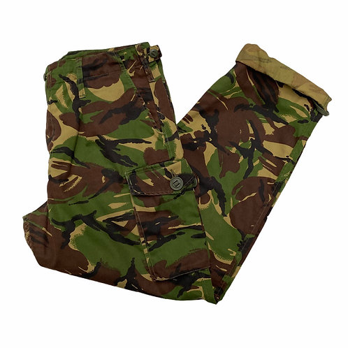Vintage Military Camo Trousers XL