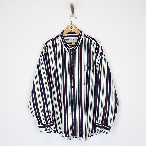 Vintage Striped Shirt XXL