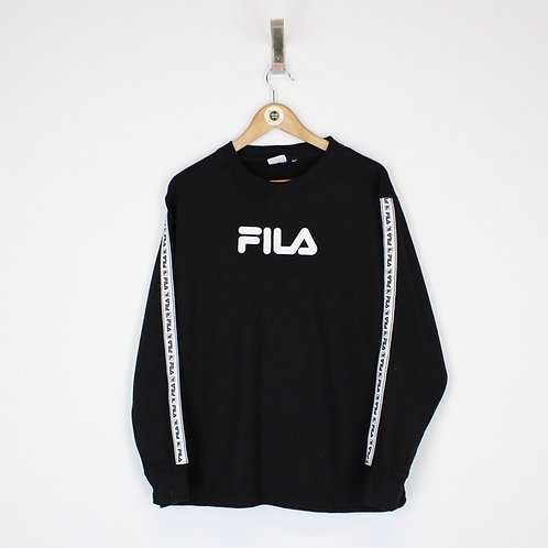 Vintage Fila Sweatshirt Medium