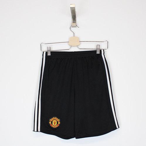 Vintage Adidas Man Utd Shorts Small