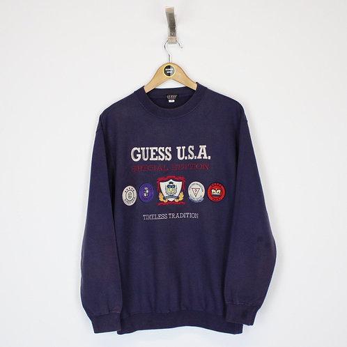 Vintage Guess Sweatshirt Medium