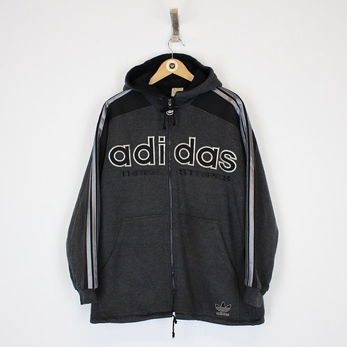 Vintage Adidas Hoodie Jacket XXL