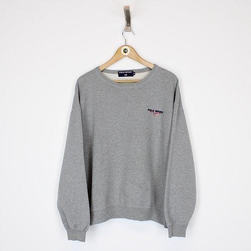 Vintage Polo Sport Sweatshirt Small