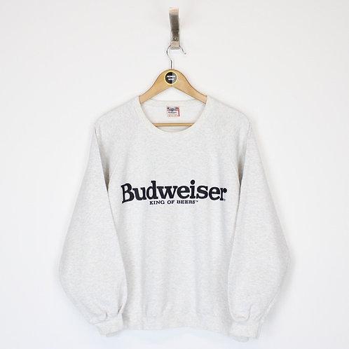 Vintage Budweiser Sweatshirt Small