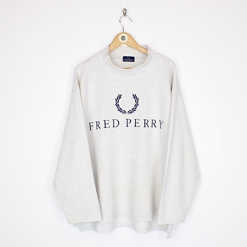 Vintage Fred Perry Sweatshirt Large