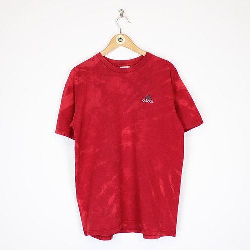 Vintage Adidas Tie Dye T-Shirt Medium