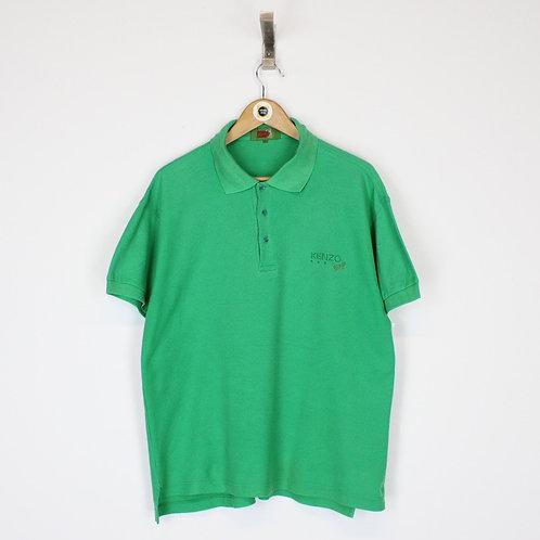 Vintage Kenzo Polo Shirt Small