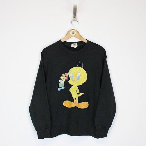 Vintage Looney Tunes Sweatshirt Large