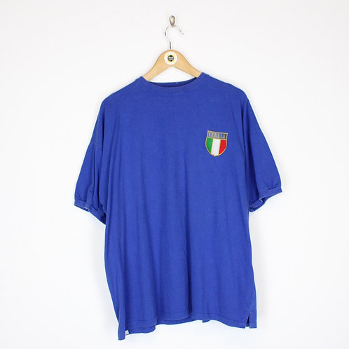 Vintage Italy Football T-Shirt