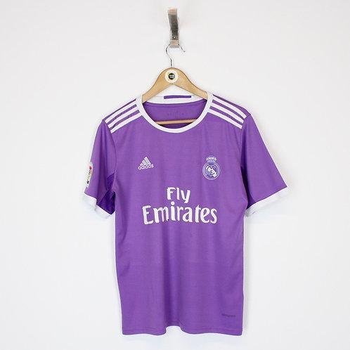Vintage 2016/17 Real Madrid Football Shirt Small