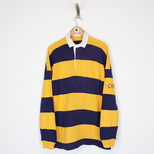 Vintage Benetton Rugby Shirt Large