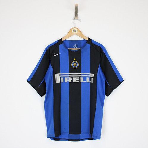 Vintage 2004/05 Inter Milan Shirt Medium