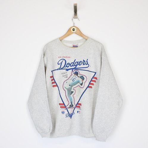 Vintage 1995 LA Dodgers MLB Sweatshirt Medium