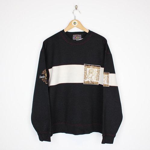 Vintage Louis Versus Sweatshirt Large
