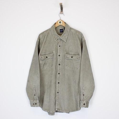 Vintage Gap Jumbo Cord Shirt XL