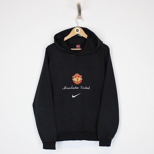 Vintage Nike Man Utd Hoodie Small