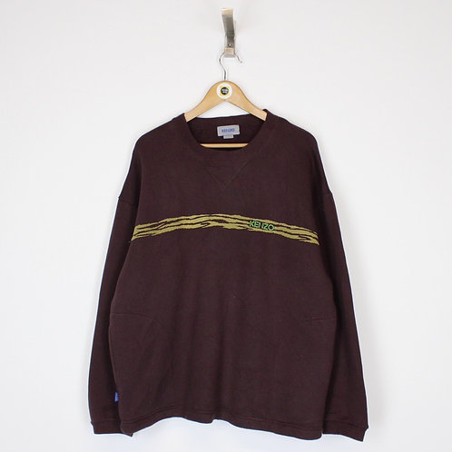 Vintage Kenzo Sweatshirt Large