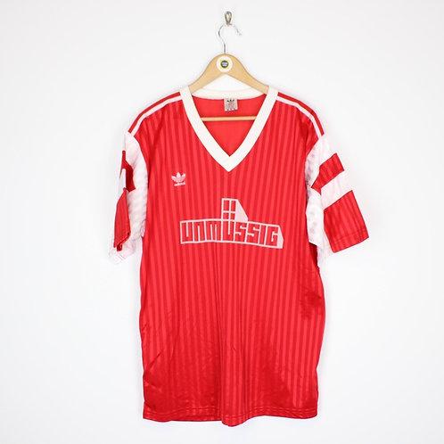 Vintage Adidas Retro Football Shirt XL