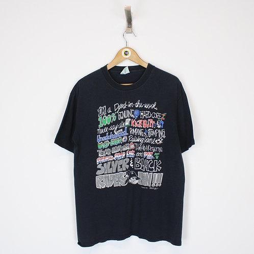Vintage 1991 NFL Las Vegas Raiders T-Shirt Large