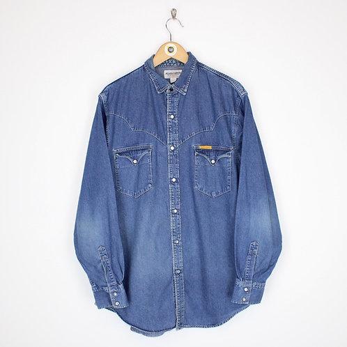 Vintage Edwin Jeans Shirt Large