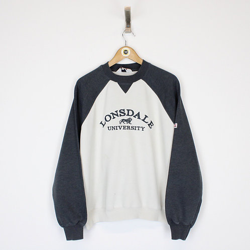 Vintage Lonsdale Sweatshirt Small