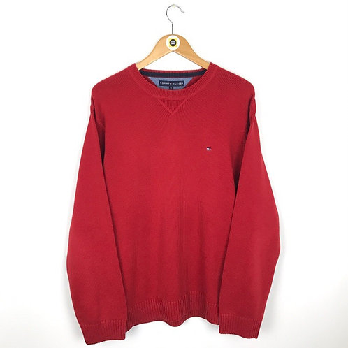 Vintage Tommy Hilfiger Knitted Sweat XL
